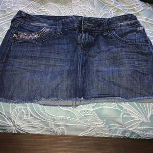 Express Jean Skirt Size 6 Worn Once